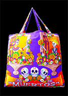 Day Of The Dead Cotton Bag (Style 01)