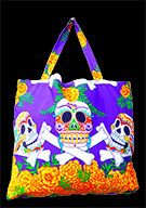 Day Of The Dead Cotton Bag (Style 02)