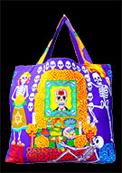 Day Of The Dead Cotton Bag (Style 03)
