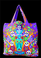 Day Of The Dead Cotton Bag (Style 06)