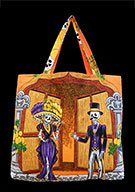 Day Of The Dead Cotton Bag (Style 08)
