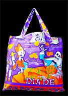 Day Of The Dead Cotton Bag (Style 05)