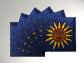 Sol Am Tile Coasters
