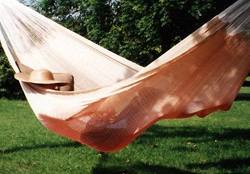 natural garden hammock - click here to visit the hammock page!