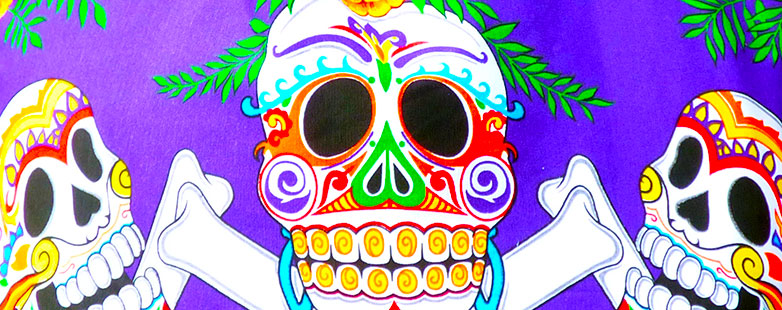 Day Of The Dead Cotton Bags