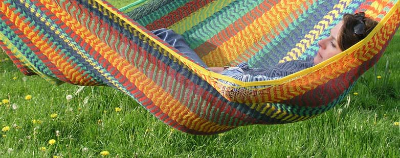 Handwoven hammocks