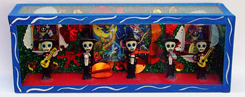 Mexican Skeleton Boxes