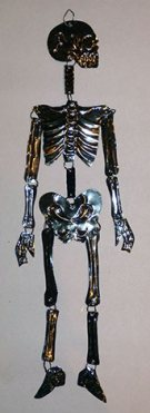 Black Tin Skeleton
