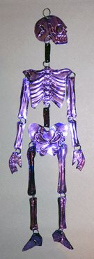 Purple Tin Skeleton