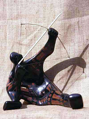 Michoacan Archer Figure
