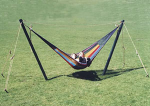 Guyed Post Hammock Stand