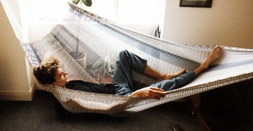 relieve stress in a hammock - click here to visit the hammock page!