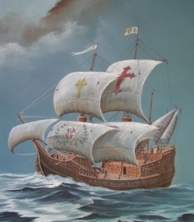 Spanish Galleon - click here to visit the hammock page!